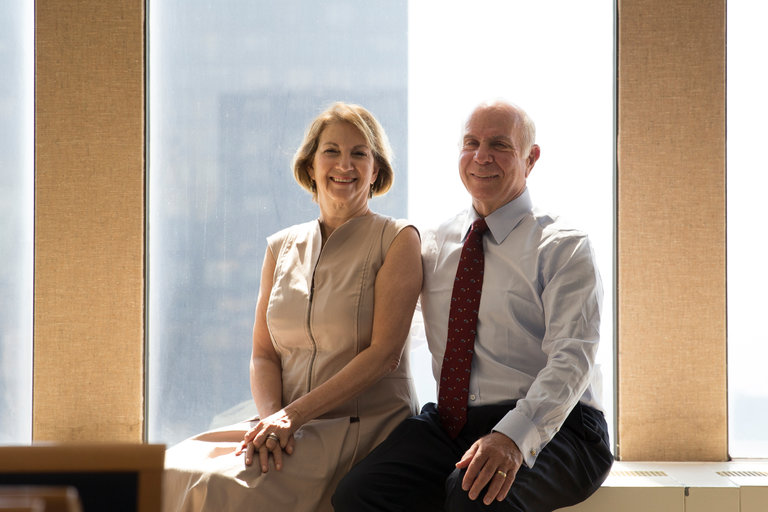Vicki and Ron Weiner NYT